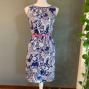 Nine West Dress~Belted~Size 4P